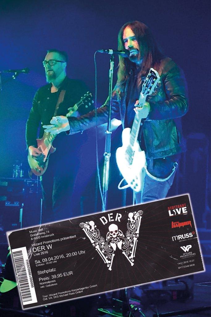 Der W - 09.04.16 - Musichall Innsbruck