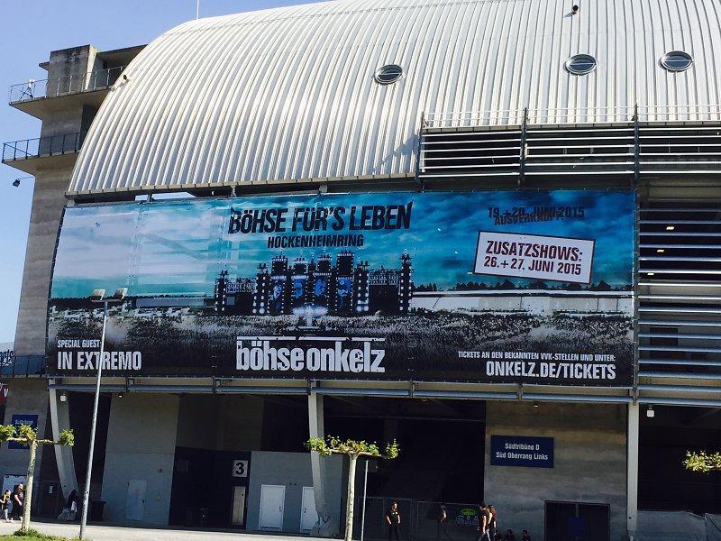 Böhse Onkelz - 1. WE Böhse fürs Leben - 19. & 20. Juni 2015